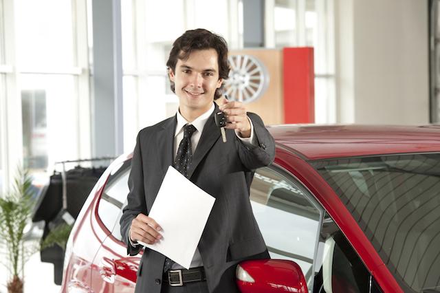 señal para la compra de un coche