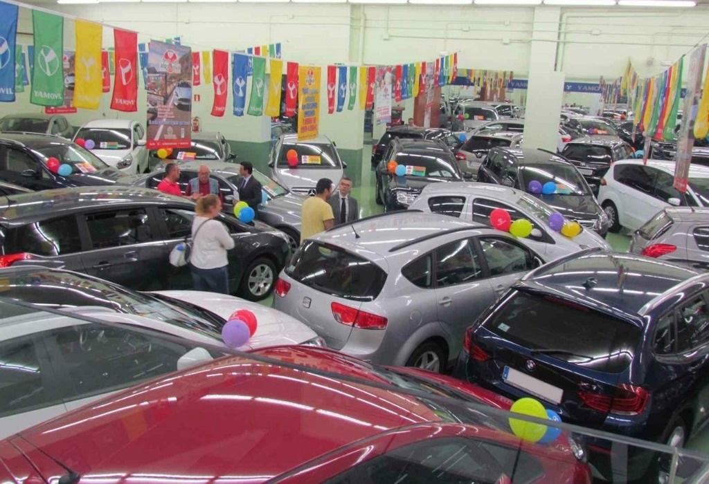 Gestión del stock de coches usados