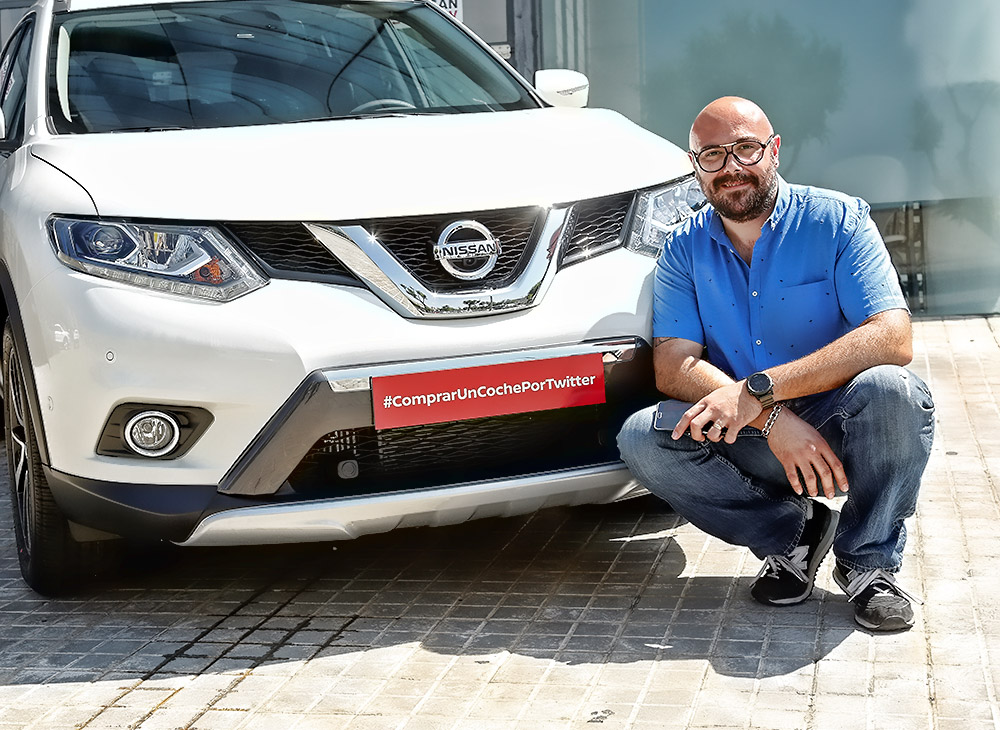 Nissan primera mara en vender coches por Twitter