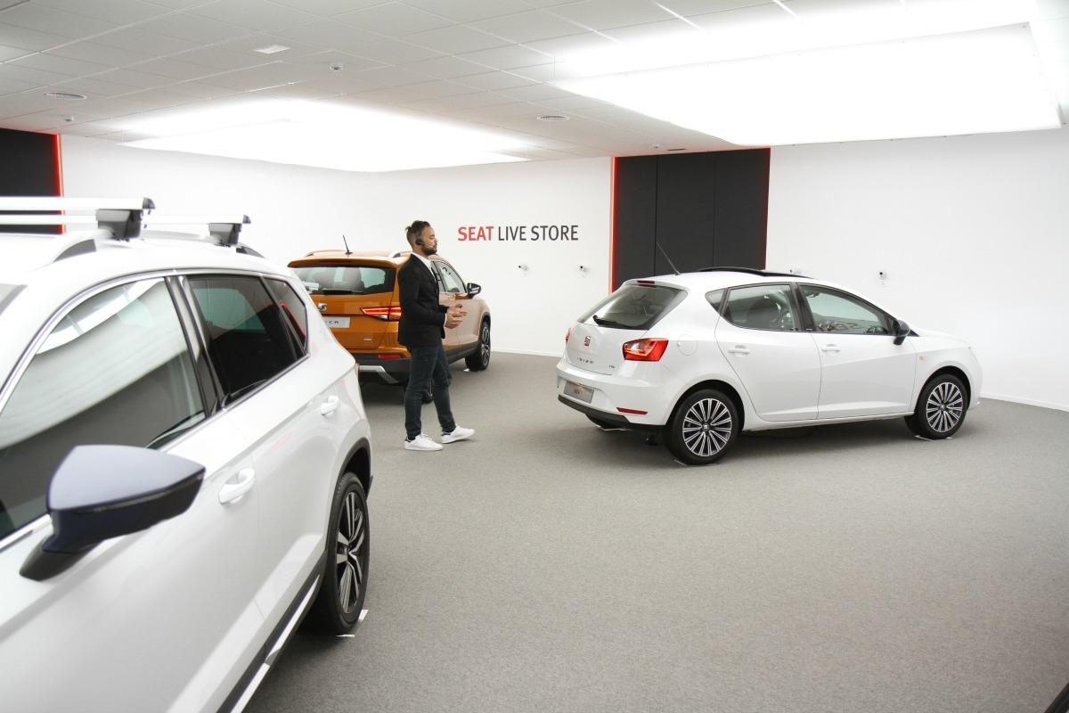 SEAT Showroom virtual