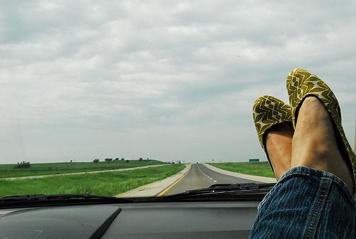 millennial en coche