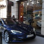 Tienda Tesla en Madrid